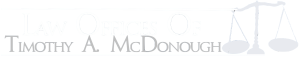 Law Offices of Timothy McDonough Logo
